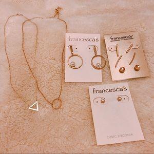 Delicate jewelry bundle